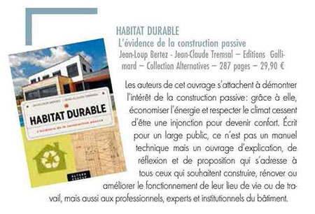 Habitat durable Passion architecture