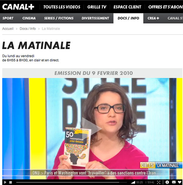 Canal + 50 innovations 1